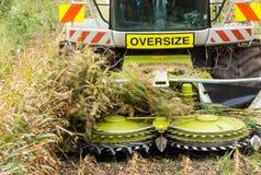Harvester Blades Stock Image