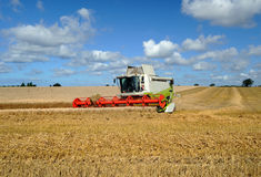 Harvester combine Royalty Free Stock Photo