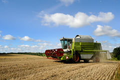 Harvester combine Royalty Free Stock Image