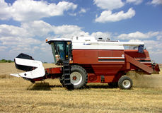 Harvester - combine Royalty Free Stock Photos