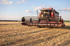 Harvester combine Stock Photography
