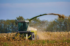 Harvester combine Royalty Free Stock Photos