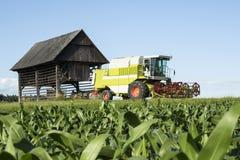 Harvester Stock Image