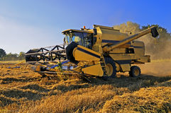 Harvester-thresher combine Stock Photo
