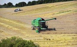 Harvester trucks Royalty Free Stock Photo
