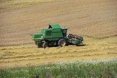 Harvester trucks Stock Image