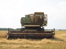 Harvester in work Royalty Free Stock Photography
