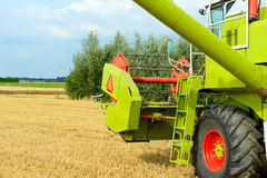 Harvesting combine Royalty Free Stock Photography