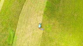Harvesting hay stock footage