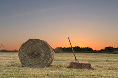 Harvesting hay three Royalty Free Stock Photos