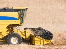 Harvesting machine. Of the wheat Stock Photo