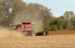 Harvesting Soybeans Stock Images
