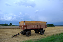 Harvesting truck Stock Photography