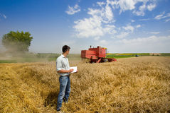 Harvesting Stock Images