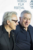 Harvey Keitel and Robert DeNiro at Taxi Driver Reunion Royalty Free Stock Photography