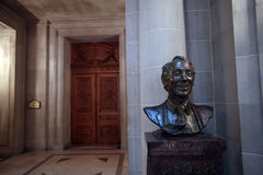 Harvey Milk bust, San Francisco City Hall Royalty Free Stock Photo