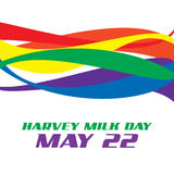 Harvey Milk Day Stockbild