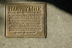 Harvey Milk Monument Royalty-vrije Stock Afbeeldingen