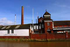Harvey`s brewery, Lewes, East Sussex stock photo