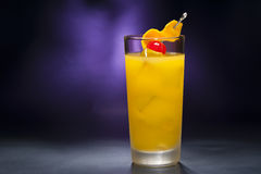 Harvey Wallbanger Cocktail Royalty Free Stock Photo
