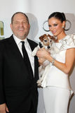 Harvey Weinstein, Georgina Chapman Royalty Free Stock Photo