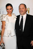 Harvey Weinstein, Georgina Chapman Royalty Free Stock Photography