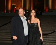 Harvey Weinstein und Georgina Chapman Lizenzfreies Stockfoto