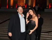 Harvey Weinstein und Georgina Chapman Lizenzfreie Stockfotos