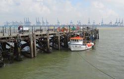 Harwich Quay Lizenzfreies Stockfoto