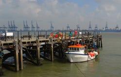Harwich Quay Lizenzfreie Stockbilder