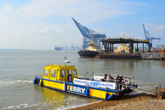 Harwich to Felixstowe and Shotley Ferry Stock Photography