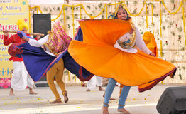 Haryanvi dance Stock Images