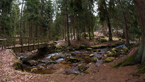 Harz Mountain River Stock Image