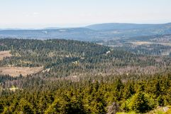 The Harz mountains in Germany Stock Images