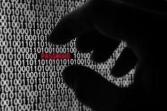 hasło komputerowa ochrona obrazy stock