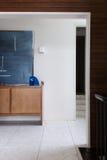 Hasłowy foyeru bufet i grafika szczegół przeglądać od żywego terenu obrazy stock