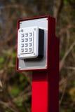 Hasłowy ochrona panel Zdjęcia Stock