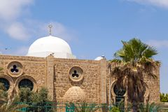 Hasan Bey Mosque à Tel Aviv photo stock