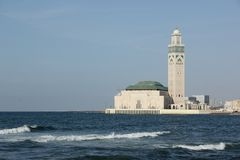 Hasan II meczet Obraz Royalty Free