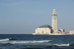 Hasan II moské royaltyfri bild
