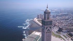 Hasan II moské Royaltyfria Bilder