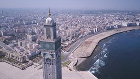 Hasan II Moskee Stock Fotografie