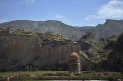 Hasan Keif, Zeynell-het mausoleum van het Bey Turkije van het plaatszuidoosten stock afbeeldingen