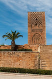Hasan Tower i Rabat royaltyfri bild