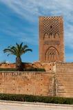 Hasan Tower a Rabat Immagine Stock Libera da Diritti