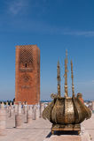 Hasan tower in Rabat. Morocco Royalty Free Stock Images