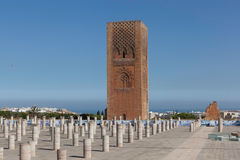塔Hasana.Rabat 免版税库存照片