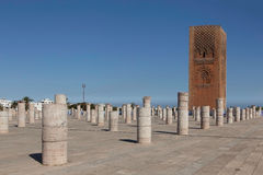 塔Hasana.Rabat 免版税图库摄影