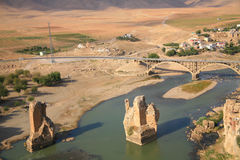 Hasankeyf Village Stock Images