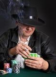 hasardspelare Royaltyfria Bilder